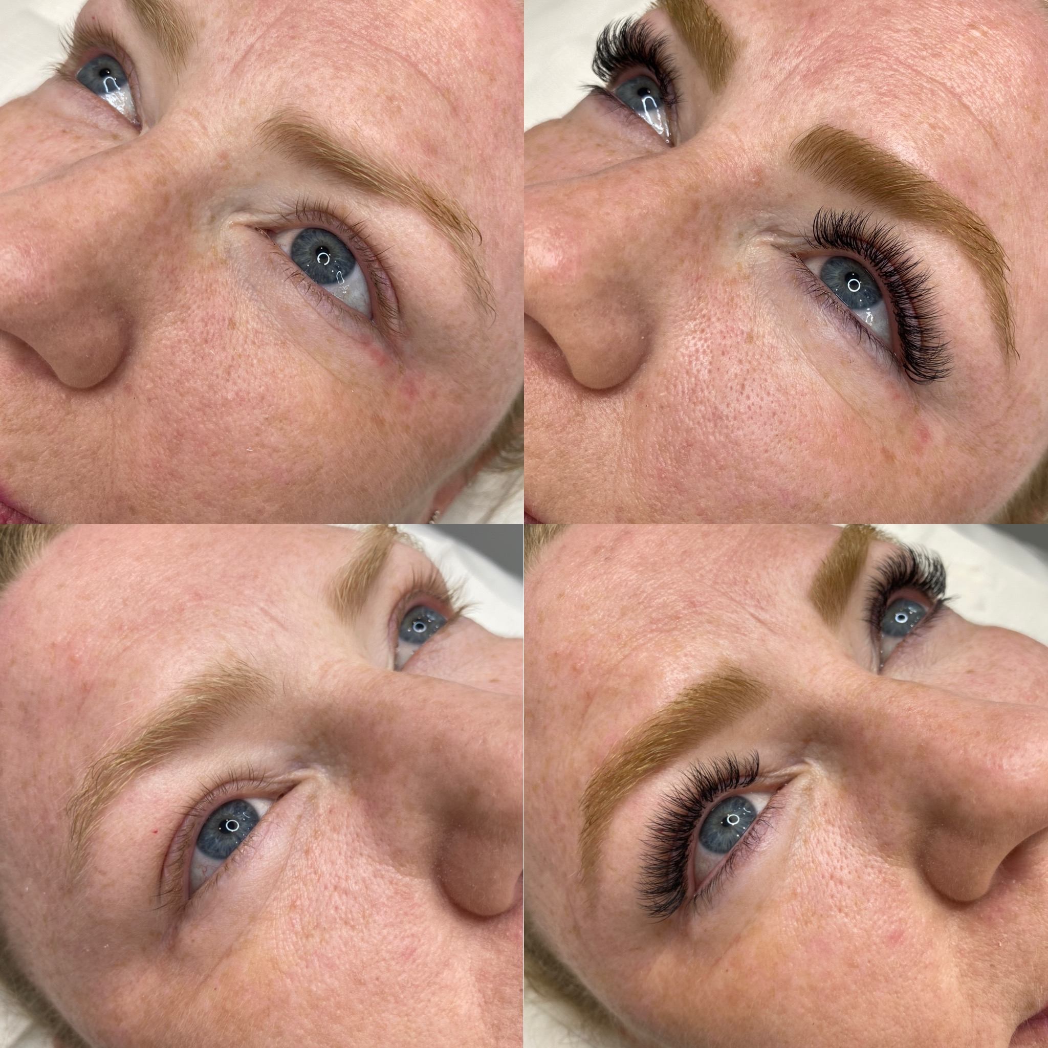 Lash Extensions Brisbane Before and After