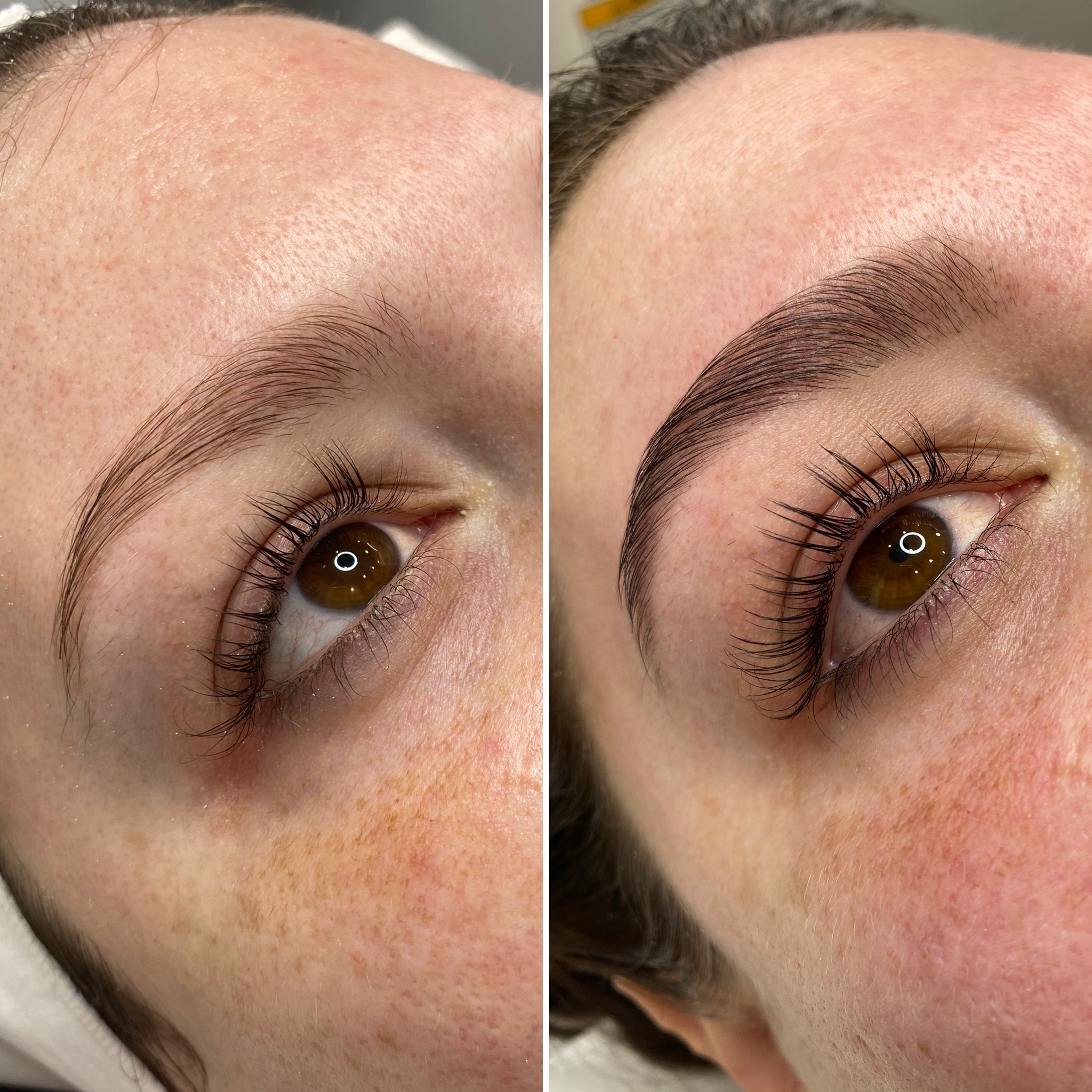 Bobbie Charles Lash Lift Before and After
